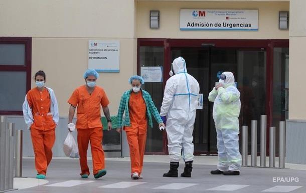 В Испании число жертв COVID-19 падает до минимумов