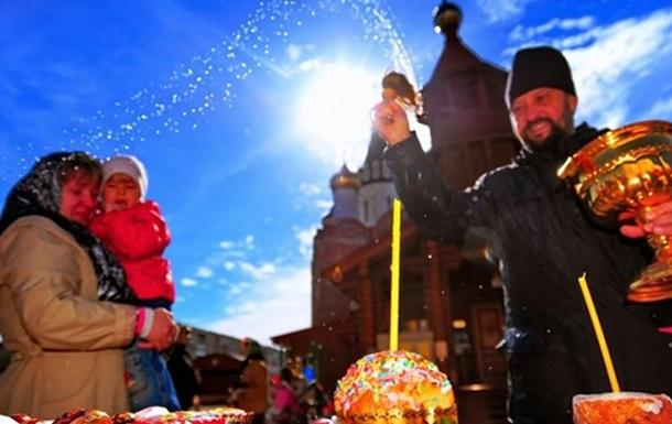 Погода на Великдень-2020 в Україні