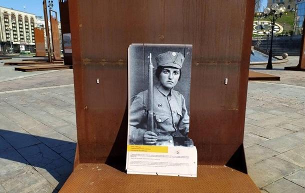 Выставку музея Революции Достоинства сдуло ветром – полиция