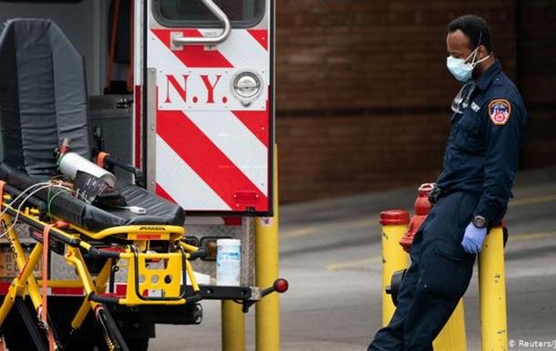 Коронавірус: у США кількість померлих перевищила позначку в 10 тисяч