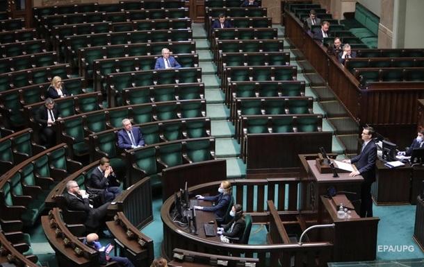 Сейм Польши одобрил голосование на выборах президента по почте