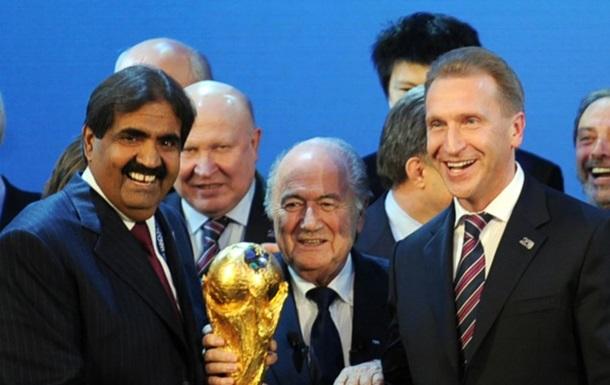 Мін юст США назвав чиновників ФІФА, яких РФ і Катар підкупили, аби отримати ЧС