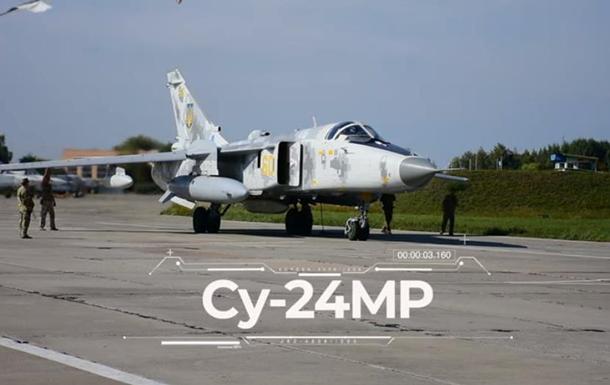 На відео показали політ розвідника Су-24МР