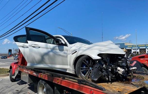 Американец разбил новую BMW M5 сразу после покупки: фото