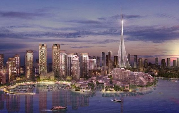 Найвищу будівлю перестали будувати через коронавірус