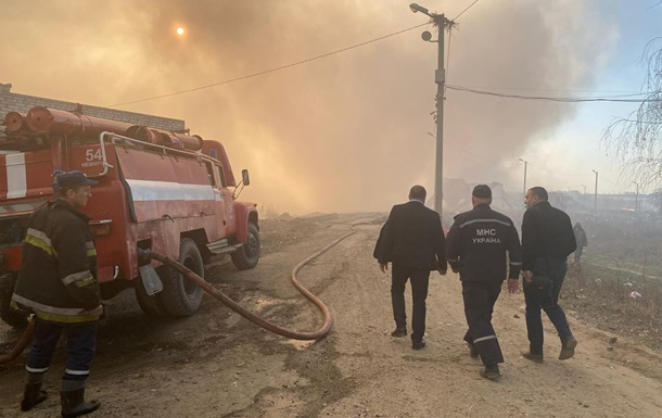 Во Львовской области горит свалка