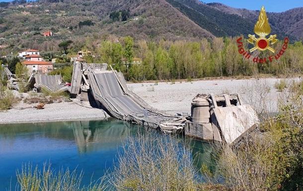 В Италии обрушился автомобильный мост