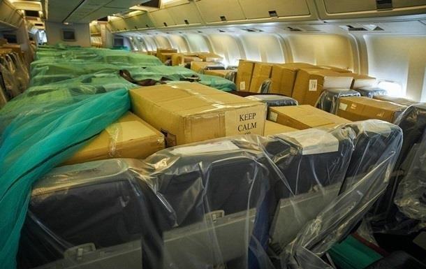 В ОПУ назвали стоимость рейса в Китай за медсредствами