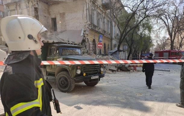 В центре Одессы обвалился дом-памятник архитектуры