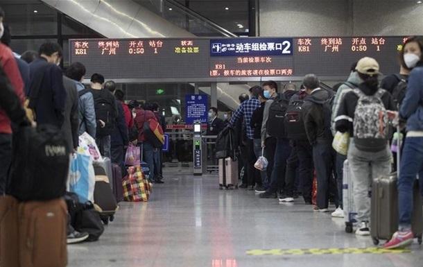 В Китае восстанавливают внутреннее авиасообщение