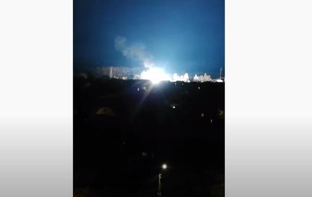 Під Києвом місто залишилося без електрики і води через пожежу