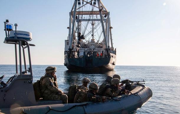 ВМС провели навчання в Чорному морі