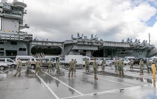 На борту авианосца США выявили коронавирус у 447 моряков