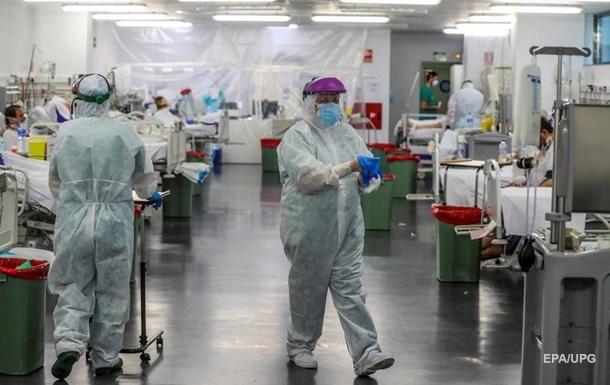 В Іспанії різке зниження смертності від COVID-19