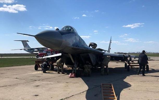 Названа причина аварийной посадки истребителя ВСУ