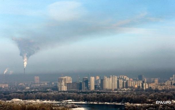 Воздух Киева стал самым грязным в мире