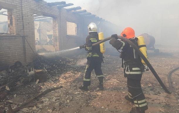 В Ровенской области произошел пожар в мужском монастыре