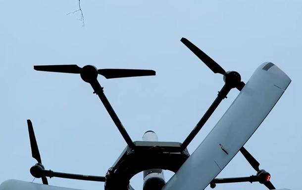 Випробування дрона-камікадзе Грім показали на відео