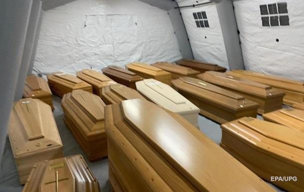 В Мадриде закрыли один из временных моргов для жертв COVID-19
