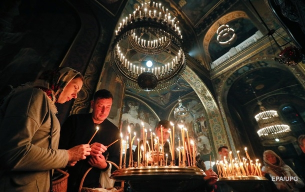 В ОП опубликовали время трансляции богослужений на Пасху