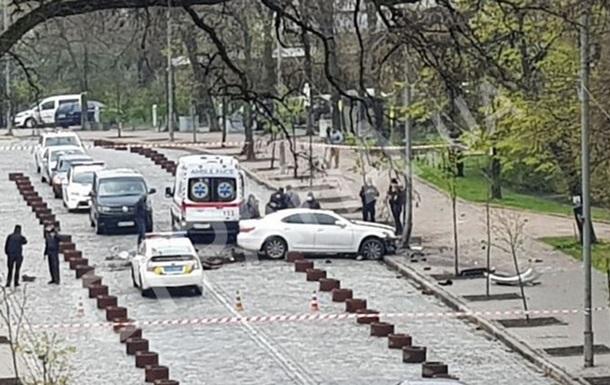 Появилось видео задержания  кабминовца  в Киеве