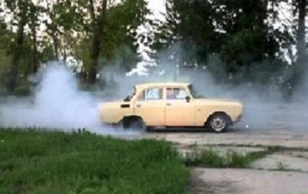 Внимание опасность!!! Пенсионер чуть не сгорел на колесах с миномета!!