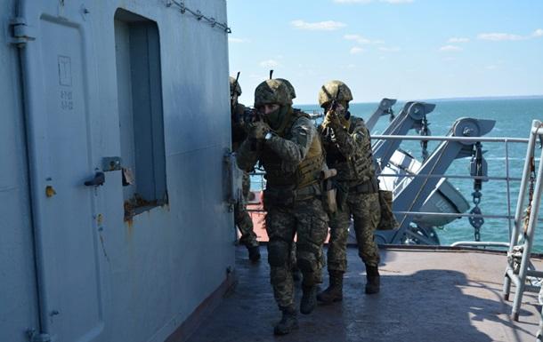 В Азовском море прошли учения по отражению атаки