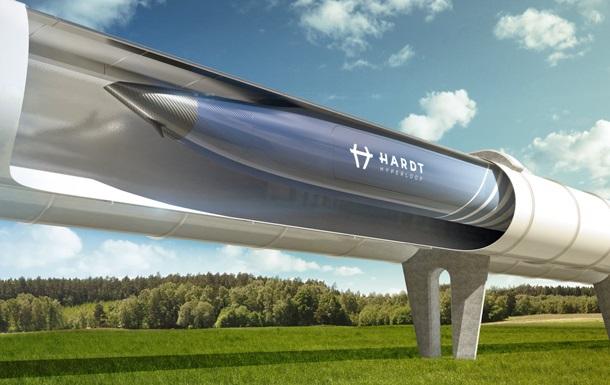 Нидерланды соединяют пять европейских городов линиями Hyperloop