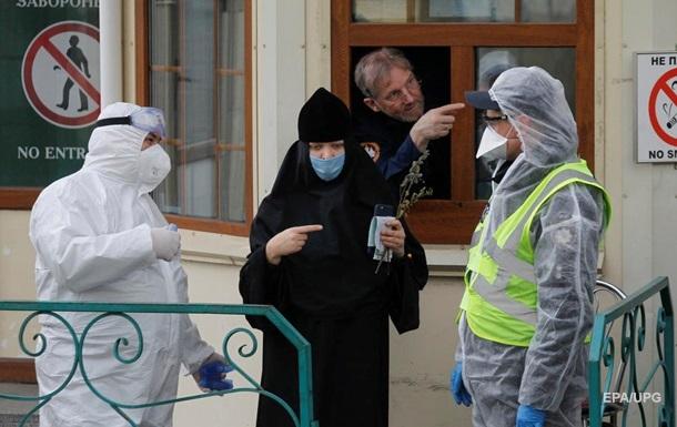 В Киеве в еще одном монастыре произошла вспышка COVID-19