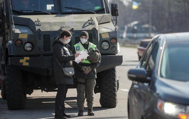 Через перевірки на в їздах до Києва утворилися затори