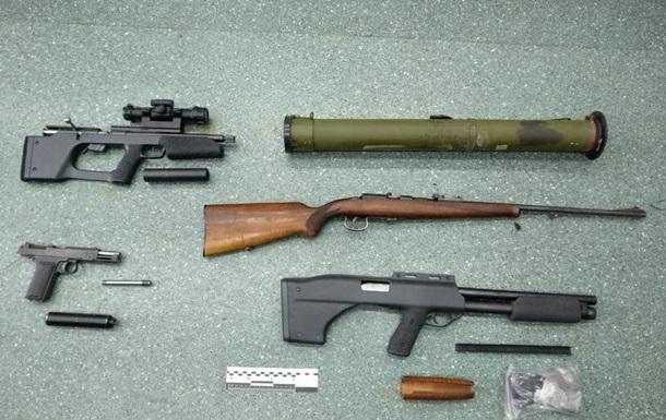 СБУ затримала пособника генерала Шайтанова з арсеналом зброї