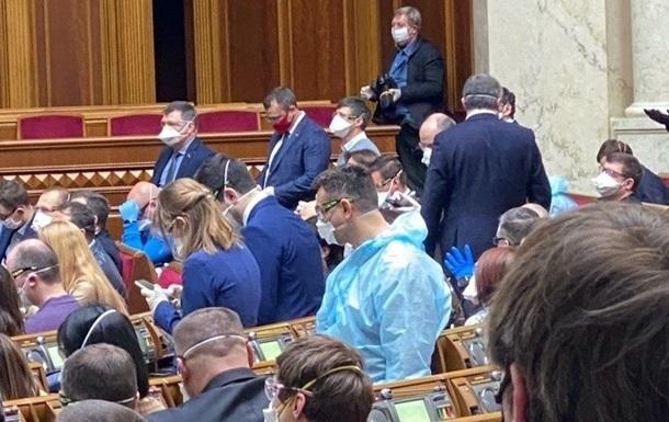 В Раде блокируют подписание закона о  законодательном спаме