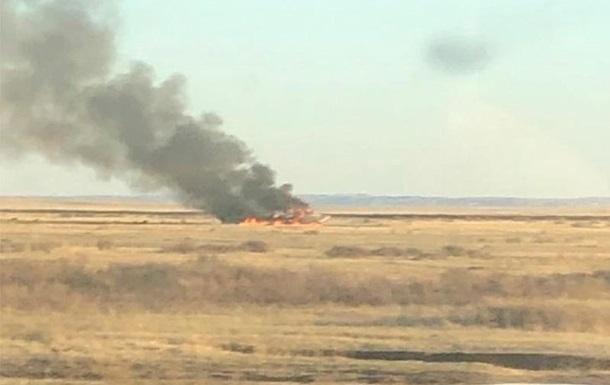 В Казахстане разбился истребитель МиГ-31