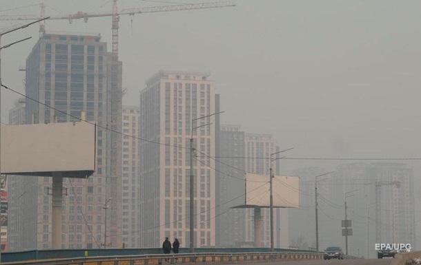 Воздух в Киеве очистился более чем в три раза