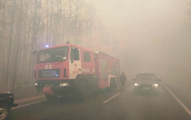 Украинские пожары направляются к Беларуси