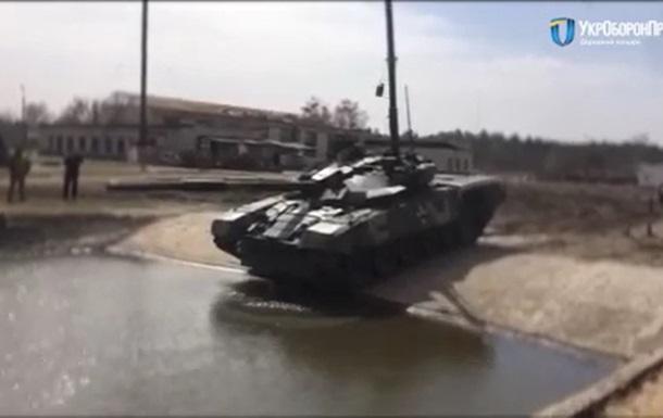 Появилось видео подводных испытаний танка Т-72