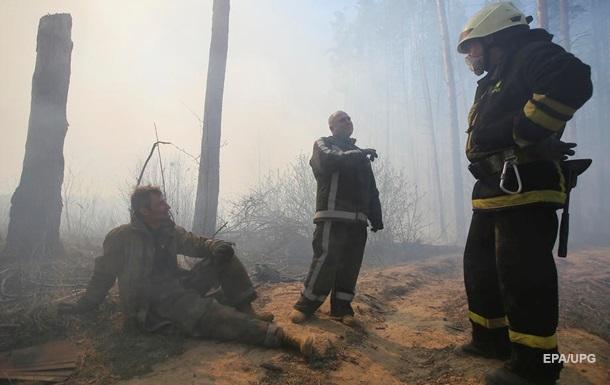 Німеччина передасть Україні обладнання для боротьби з пожежами в зоні ЧАЕС