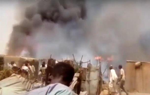 У Нігерії через пожежу в таборі для біженців загинули 14 людей