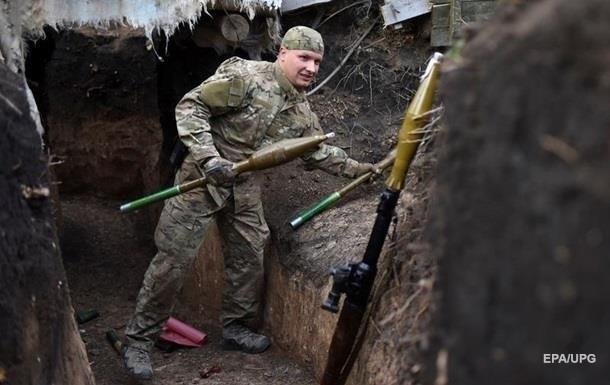 На Донбасі за добу п ять обстрілів, втрат немає