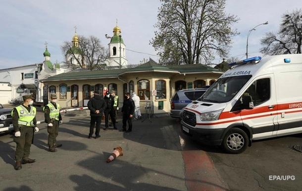 В Киево-Печерской лавре 26 новых заболевших