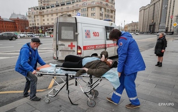 В России рекордное число новых заражений COVID-19