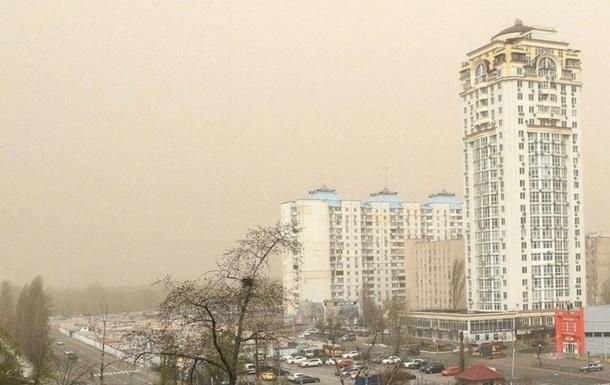 Київ оновив рекорд із забрудненості повітря