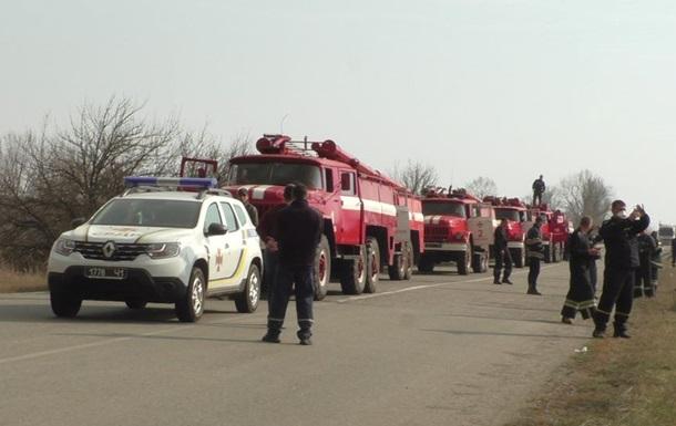 Рятувальники через пожежі створили резерв сил