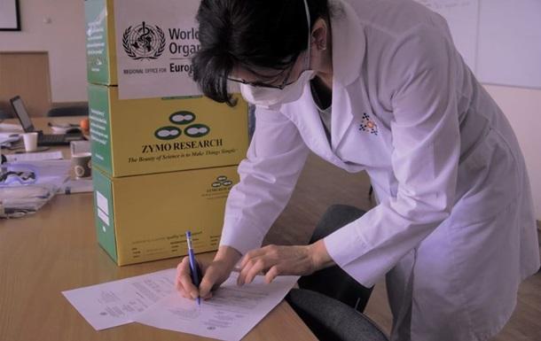 Україна отримала від ВООЗ гуманітарну допомогу