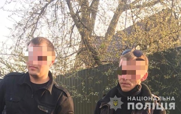 Под Киевом за поджог травы задержали двоих мужчин