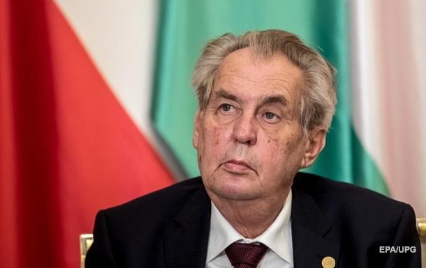 Президент Чехии предлагает «закрыть» страну на год