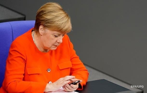 Переговоры Шмыгаля с Меркель отложили