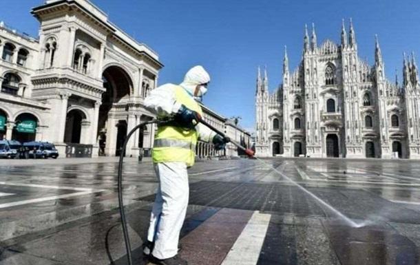 Впервые с начала пандемии коронавируса в Италии общее число инфицированных людей