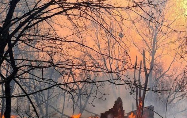 Ukraine: Forest Fires Near the Chernobyl Nuclear Power Plant