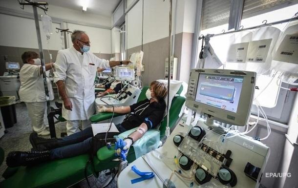 В Италии впервые сократилось число активных случаев коронавируса